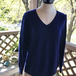 Talbots cashmere sweater